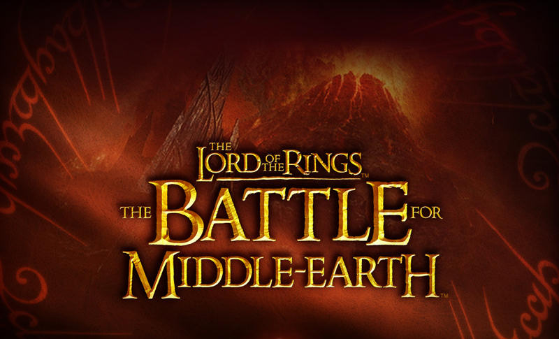 Фан сайт игры Lord of the Rings Battle for Middle earth